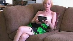 Amateur MOM Drains Her Son'_s Balls