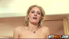 Slutty MILF cougar takes it in the ass and squirts Zoe Holloway 3 002