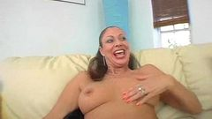 Brunette MILF with some big jugs 2 002