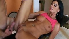 Hot athletic stepmom fucks her son 4