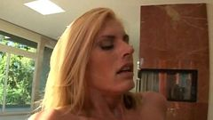 Blonde stepmom with hot body 5