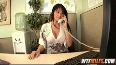 MILF fucks the boss Eva Karera 2 001