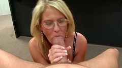 MILF with glasses wants cock 3