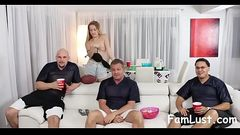 Teens Fucks Pervert Uncle During SuperBowl - FamLust.com