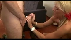 First Sex and Fisting for Virgin Son with hot Step Mom