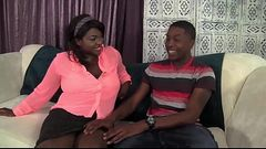 Big Tittied Ebony Fucked Hard - BlacksOnMoms.co