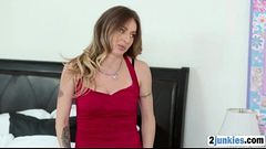 Perv bangs his gorgeous stepmom
