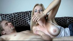 Stepmom swallows cum - Stop jacking off. Get some real pussy! milfhoookup.com